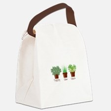Rosemary Chives Canvas Lunch Bag