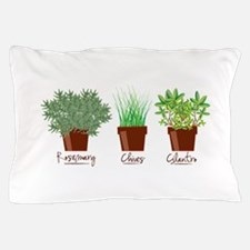 Rosemary Chives Pillow Case