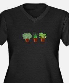 Rosemary Chives Plus Size T-Shirt