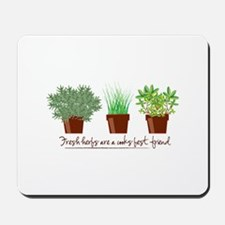 Fresh Herbs Mousepad