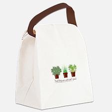 Fresh Herbs Canvas Lunch Bag