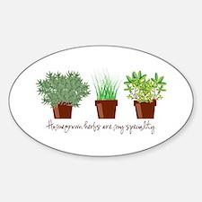 Homegrown Herbs Decal