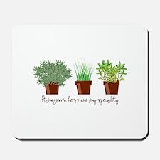 Homegrown Herbs Mousepad