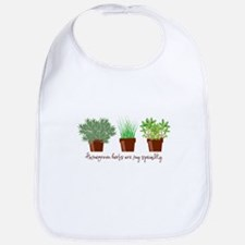 Homegrown Herbs Bib