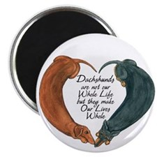 Dachshunds for life Magnet