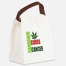 Cannabis Cures Canvas Lunch Bag