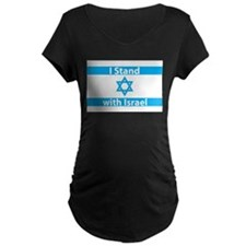 I Stand with Israel - Flag T-Shirt