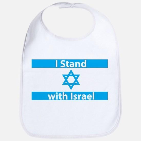 I Stand with Israel - Flag Bib