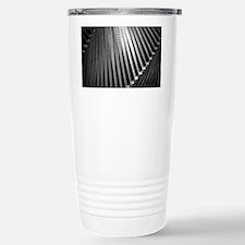 Steel abstract Stainless Steel Travel Mug
