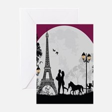 Romantic Landscape Greeting Cards