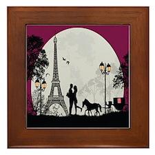 Romantic Landscape Framed Tile