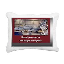 F/A - 18 Hanger Get Well Rectangular Canvas Pillow