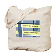 Masculine Keep Getting Well Card Design Tote Bag
