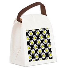 Daisies Canvas Lunch Bag