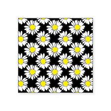 "Daisies Square Sticker 3"" x 3"""