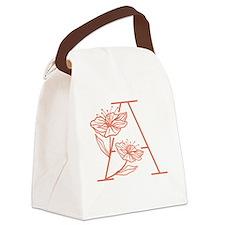 Botanical A Monogram Canvas Lunch Bag
