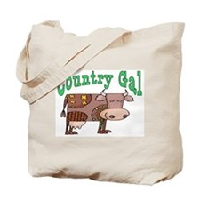 Country Gal Tote Bag