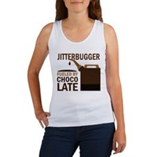 Jitterbugger Fueled by chocolate Women's Tank Top