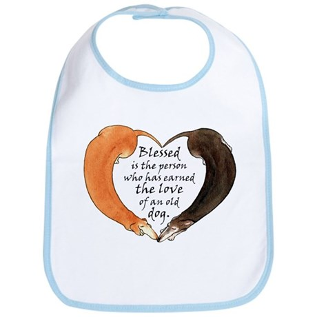 Love of an Old Dog Bib