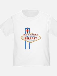 Belfast - Las Vegas Sign T-Shirt