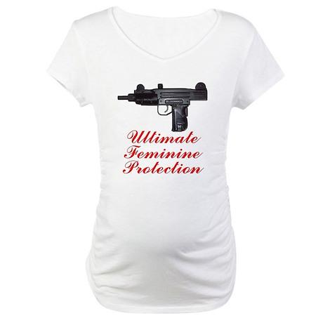 UZI, Ultimate Feminine Protec Maternity T-Shirt