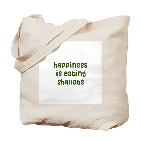 happiness is eating shallots Tote Bag