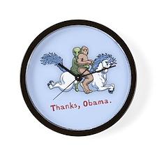 Thanks Obama! Wall Clock