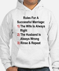 Rules For A Successful Marriage Hoodie