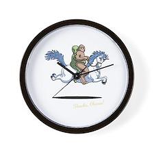 Cute Funny obama Wall Clock