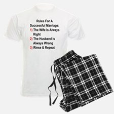 Rules For A Successful Marriage Pajamas