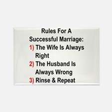 Rules For A Successful Marriage Magnets