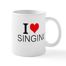 I Love Singing Mugs