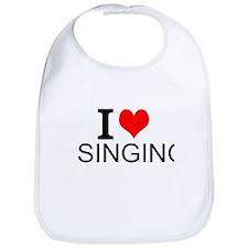 I Love Singing Bib