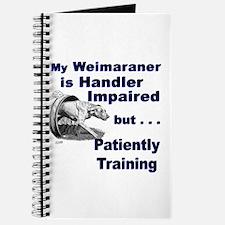 Weimaraner Agility Journal