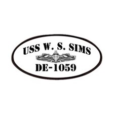 USS W. S. SIMS Patches