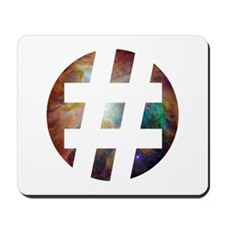 Hastag Space Mousepad