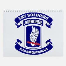 173rd Airborne Brigade Wall Calendar
