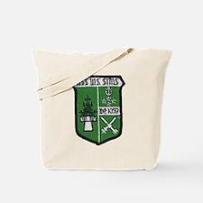 uss w. s. sims de patch Tote Bag