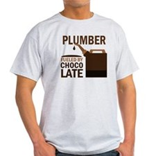 Plumber Fueled by chocolate T-Shirt