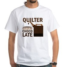 Quilter Fueled by chocolate Shirt