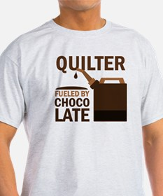 Quilter Fueled by chocolate T-Shirt