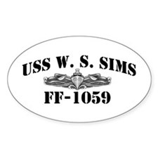 USS W. S. SIMS Decal