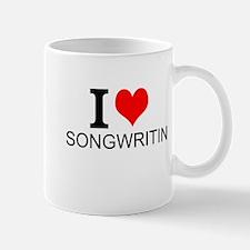 I Love Songwriting Mugs