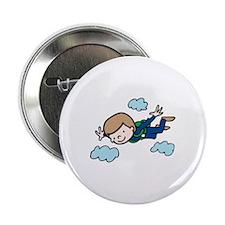 "Skydiving Boy 2.25"" Button"