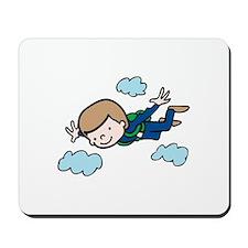 Skydiving Boy Mousepad