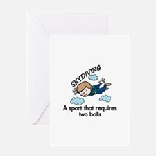 Skydiving Sport Greeting Cards