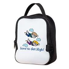 Skydiving High Neoprene Lunch Bag