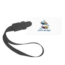Skydiving High Luggage Tag