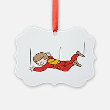 Boy Skydiver Ornament
