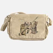 Felines Flute Messenger Bag